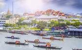 Landscape of Thai's king palace — Stock Photo