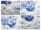 Mavi gökyüzü ile güzel bulutlar — Stok fotoğraf