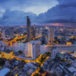 Stock Photo: Bangkok at dusk