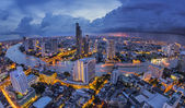 Bangkok at dusk — Stock Photo