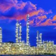 Oil refineOil refinery plant — Stock Photo #33160649