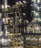 Oil refinery industry — Stock Photo