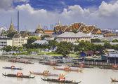 Landscape of Thai's king palace — Stockfoto