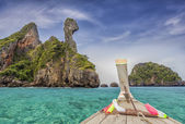 Railay beach — Stock Photo