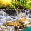 Erawan Waterfall in Kanchanaburi Province — Stock Photo #37203749
