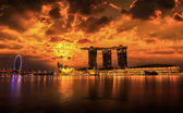 Landscape of the Singapore — Stock Photo