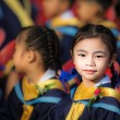 Achievement of degree for young babay — Stock Photo #38533795