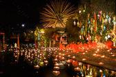 New year anniversary festival at Chaing mai — Stock Photo