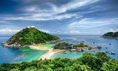 NangYuan and Tao island — Stock Photo