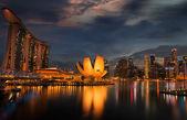 Miasto singapur — Zdjęcie stockowe