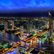 Bangkok city at dusk — Stock Photo #40182907