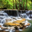 Level six of Huai Mae Kamin Waterfall — Stock Photo