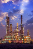 Oil refinery factory plant — Stock Photo