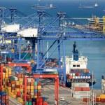 Cargo ships — Stock Photo #50359937