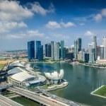 Landscape of Singapore city — Stock Photo #50359985