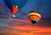 Balloon travel — Stock Photo