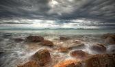 The Rock Hin ta from Thai island of Koh Samui — Stock Photo