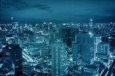 Bangkok city night view  — Stock Photo