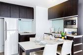 厨房的房间 — 图库照片