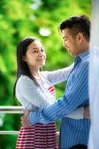 Par jovem em amor — Fotografia Stock