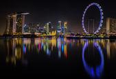 Landscape of Singapore  — Stock Photo
