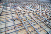 Rebar grids  — Stock Photo
