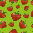 Stock Photo: Strawberry Repeat Pattern