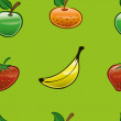 Stock Photo: Fruit pattern