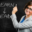 Learn and lead — Foto Stock