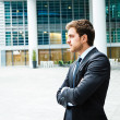 Handsome businessman portrait - Stockfoto