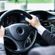 Man driving his car — Stock Photo #22618185