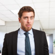 Funny businessman - Stock Photo