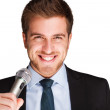 Newsreader - Stock Photo