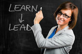 Learn and lead — Foto de Stock