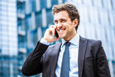 Handsome businessman portrait — Foto Stock