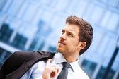 Retrato de empresario guapo — Foto de Stock
