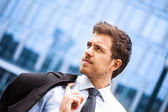 Handsome businessman portrait — Stock Photo