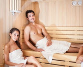Steam bath — Stock Photo