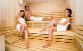 Sauna bath — Stock Photo