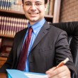 Successful businessman portrait — Stock Photo