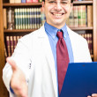 Smiling doctor portrait — Foto Stock