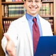 Smiling doctor portrait — Stockfoto