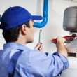Plumber at work — Stock Photo #22620541