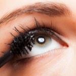 Woman applying mascara — Stock Photo #22621831