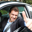 Car driver — Stock Photo #22872300