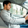 Car driver — Stock Photo