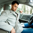 Car driver — Stock Photo #22872574