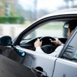 Man driving a car — Stock Photo #22872688