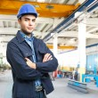 Stock Photo: Engineer portrait