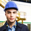 Engineer at work — Stock Photo